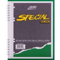 Blok A5 special s kovovou boční spirálou, čtverečkovaný, 5 ks