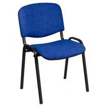 Konferenční židle Manutan ISO Black, modrá