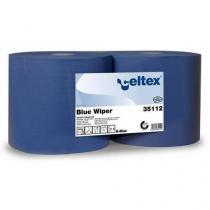 Průmyslové papírové utěrky Celtex Blue Wiper 2vrstvé, 970 útržků, 2 ks