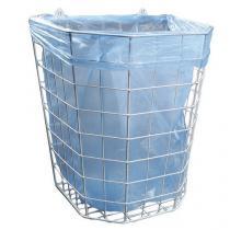 Hygienický drátěný odpadkový koš Merida Octagon, objem 22 l