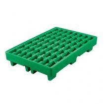 Plastová záchytná vana, kapacita 35 l, zelená