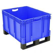Plastová přepravka s ližinami, 164 l