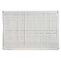 Magnetická tabule Magnetic s rastrem, 90 x 60 cm