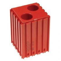 Plastové lůžko pro válcové stopky 18 mm