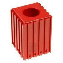 Plastové lůžko pro válcové stopky 25 mm