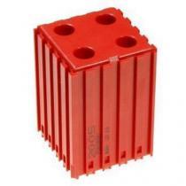 Plastové lůžko pro válcové stopky 10 mm