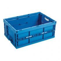 Skládací plastová přepravka, 42 l, 600 x 400 x 220 mm