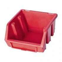 Plastový box Ergobox 1 7,5 x 11,2 x 11,6 cm, červený