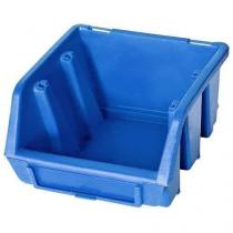 Plastový box Ergobox 1 7,5 x 11,2 x 11,6 cm, modrý