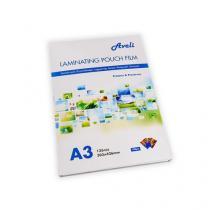 Laminovací fólie AVELI A3/250 mic (2x125), lesklé, 100 ks