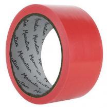 Vyznačovací páska na podlahy Manutan, šířka 50 mm, červená