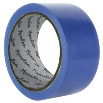 Vyznačovací páska na podlahy Manutan, šířka 50 mm, modrá