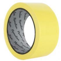 Vyznačovací páska na podlahy Manutan, šířka 50 mm, žlutá