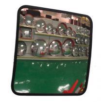 Univerzální obdélníkové zrcadlo Manutan, 40 x 60 cm