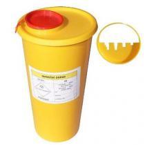 Nádoba na zdravotnický odpad, žlutá, 2,5 l