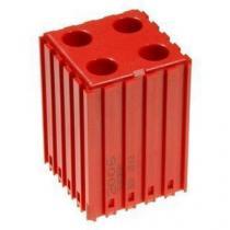 Plastové lůžko pro válcové stopky 12 mm