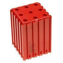 Plastové lůžko pro válcové stopky 5 mm