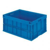 Skládací plastová přepravka, 200 l, 800 x 600 x 445 mm