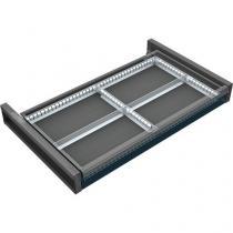 Dělicí příčky pro skříně se základnou 95 x 60 cm, 4 pole