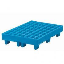Plastová záchytná vana, kapacita 35 l, modrá