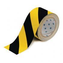 Podlahová páska Brady ToughStripe, černá/žlutá
