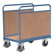 Plošinový vozík se dvěma stěnami, do 400 kg