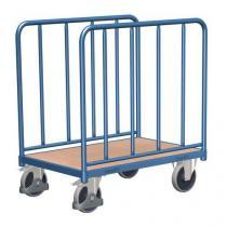 Plošinový vozík se dvěma vyztuženými stěnami, do 400 kg