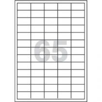 Samolepicí etikety, 38 x 21,2 mm, 100 ks