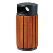 Kovový venkovní odpadkový koš Lionel, 40 l
