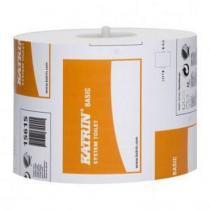 Toaletní papír Katrin System Basic 1vrstvý, 13,5 cm, 918 útržků, bílá, 36 rolí