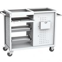 Vozík pro CNC nástroje, 90 x 108 x 47 cm