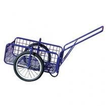 Dvoukolový vozík s dušovými koly 400 mm, do 100 kg