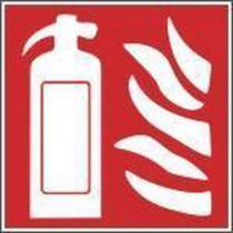Požární fotoluminiscenční bezpečnostní tabulka - Hasicí přístroj, plast