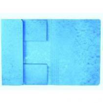 Papírové spisové desky Roll, 50 ks, modré