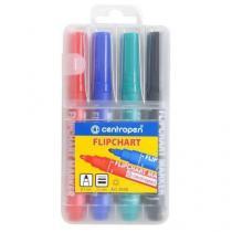 Značkovač Centropen 8550, 4 ks, mix barev