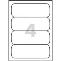 Univerzální samolepicí etikety, 190 x 61 mm