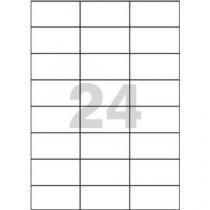Samolepicí etikety, 70 x 37 mm, 100 ks