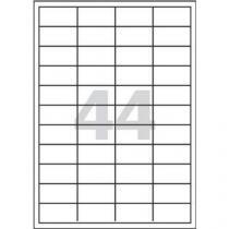 Samolepicí etikety, 48,5 x 25,4 mm, 100 ks