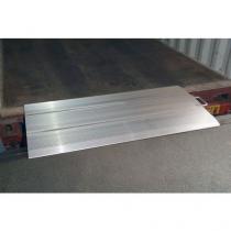 Přejezdový můstek, do 4 000 kg, 50 x 125 cm