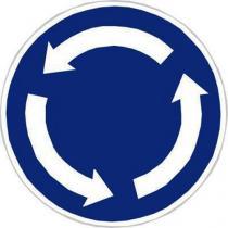 Dopravní značka Kruhový objezd (C1)