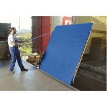 Nájezdový můstek, do 5 000 kg, posuvný, 125 x 150 cm