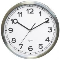 Analogové hodiny Q6 Manutan, autonomní quartz, průměr 34 cm