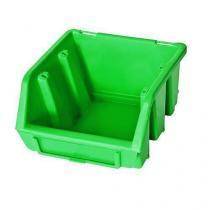 Plastový box Ergobox 1 7,5 x 11,2 x 11,6 cm, zelený