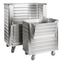 Hliníkový přepravní vozík, 1050 l