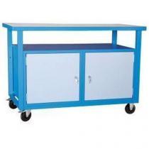 Mobilní svařovaný dílenský stůl Rivt, 85 x 120 x 60 cm