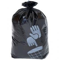 Pytle na odpad Manutan, 110 l, tloušťka 90 mic, 100 ks, černé