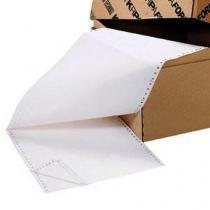 Tabelační papír s podélnou oddělitelnou perforací