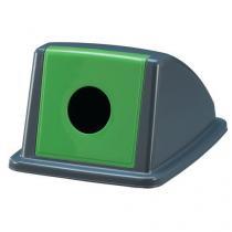 Víko na odpadkové koše Manutan 60 a 80 l, zelené