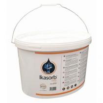 Sypký sorbent Ikasorb 1850, sorpční kapacita 10,5 l, balení kyblík 10 kg