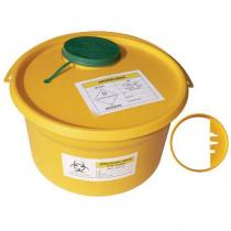 Nádoba na zdravotnický odpad, žlutá, 5 l